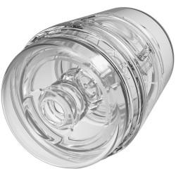 Doc Johnson Main Squeeze Pop-Off Optix Masturbator Clear