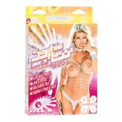 Doc Johnson Sophia Rossi - Love Doll with Fuckable Big Tits - Storbarmet Elskovs Doll