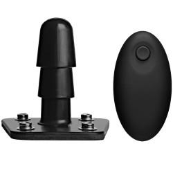 Doc Johnson Vac-U-Lock Vibrerende Plug med Trådløs Fjernbetjening