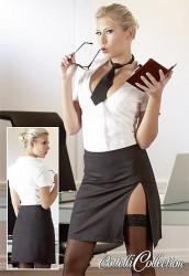 Frækt Sekretær Kostume Medium