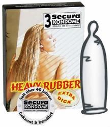 Heavy-Rubber kondomer 3 stk