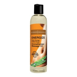 Intimate Organics Aromatherapy - Massageolie Med Duft - energize - 120 ml