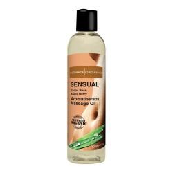 Intimate Organics Aromatherapy - Massageolie Med Duft - sensual - 120 ml