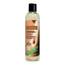 Intimate Organics Aromatherapy - Massageolie Med Duft - sensual - 240 ml