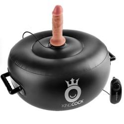 King Cock Vibrerende Oppustelig Hot Seat