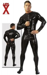 LATE X - Mens Latex Jumpsuit