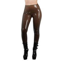 Latex tights smoke-XXL
