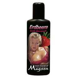 Magoon Erotik Massageolie - Strawberries