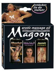 Magoon Indian - Massageolie-Sæt
