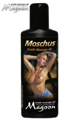 Magoon Moskus massage olie 100 ml
