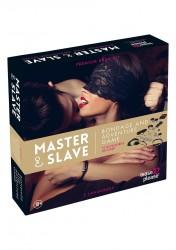 Master & Slave - Frækt Bondage Spil Til Par-Brun