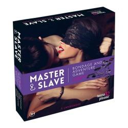 Master & Slave - Frækt Bondage Spil Til Par-Lilla