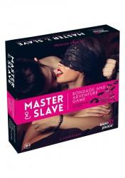 Master & Slave - Frækt Bondage Spil Til Par-Pink