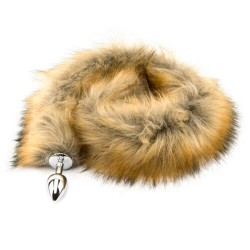 Mixed Furry Fantasy Red Fox Tail Butt Plug