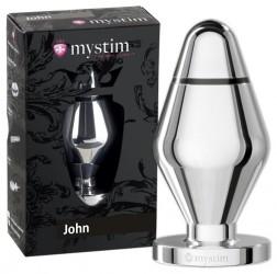 Mystim John - Stor Butt-plug