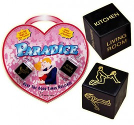 Paradice Sex-terninger 2 stk