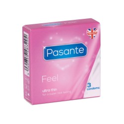 PASANTE SENSITIVE KONDOMER-3 stk.