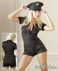 Police jumpsuit til hende Medium