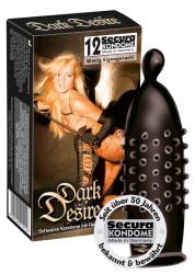 Secura Dark Desire 12 stk kondomer
