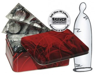 Secura Transparente Kondomer -50 stk.