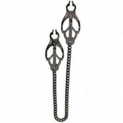 Spartacus Japanske Brystklemmer Metal