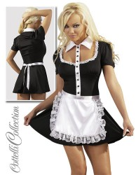 Stuepigekjole - French Maid Large