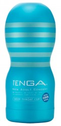 Tenga Deep Throat Cup Masturbator - Cool
