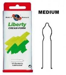 Worlds Best kondomer Liberty Cream Form - 10 stk