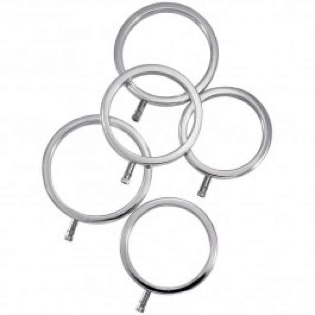 Priser på ElectraStim Solid Metal Penisringe 5 stk